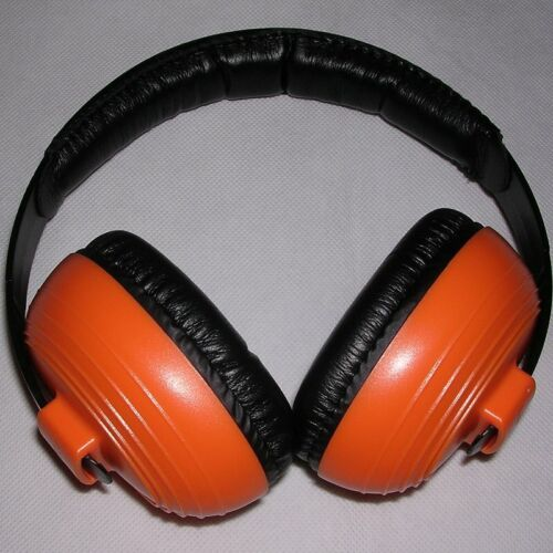 KidCo WhispEars Child Hearing Safety Orange Noise-Cancelling Headphones for Kids