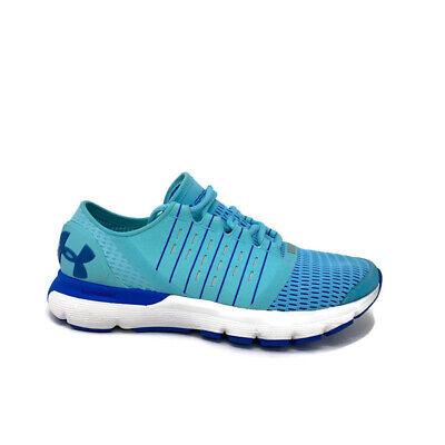 Under Armour Speedform Europa Venetian Blue Running Womens Shoes Size 8
