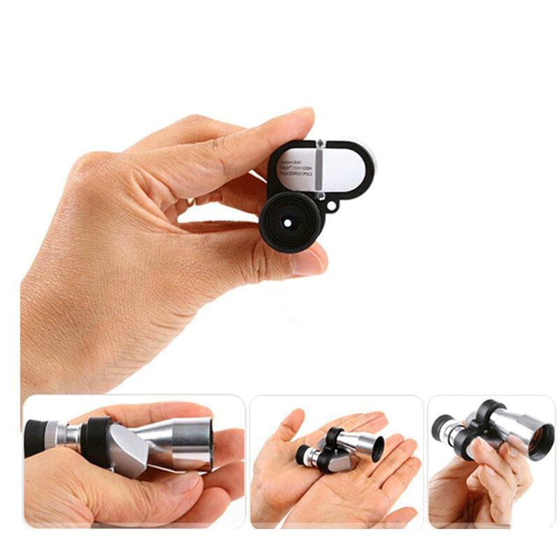 8x20mm Mini Monocular Telescope Pocket Size Portable Optical