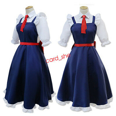 Japanese Anime Miss Kobayashi's Dragon Maid Tohru Dress Outfit Cosplay Costume - Anime Outfit
