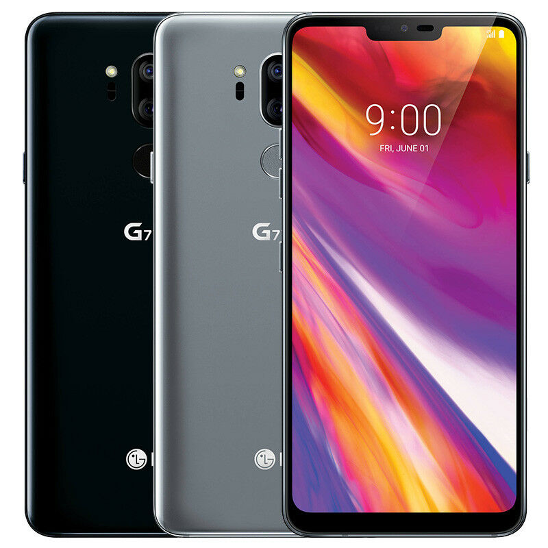 Android Phone - LG G710VM G7 ThinQ 64GB Verizon Wireless 4G LTE Android Smartphone