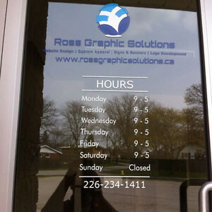 Storefront Signs, Vehicle Decals, Custom Banners and more London Ontario image 8