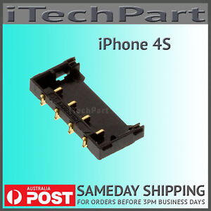 iPhone 4S Battery Clip Connector Terminal Logic Board FPC Replacement Part