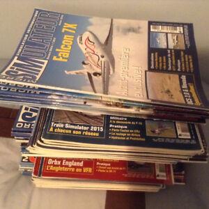 Magazines sur l'aviation