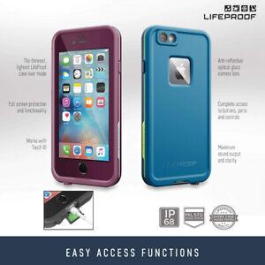 Lifeproof Fre Series iPhone 6 Plus/6S Plus Waterproof Case-black