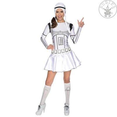 zenz Kostüm Star Wars Stormtrooper Lady Fashing Karneval   (Lady Stormtrooper)