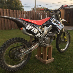 CRF 450R 2009 Super clean !!