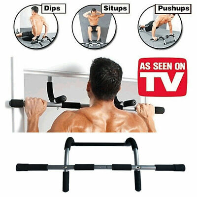 Doorway Pull Up Bar Chin-Up Sit-Up Strength Exercise Fitness Home Body Exercise