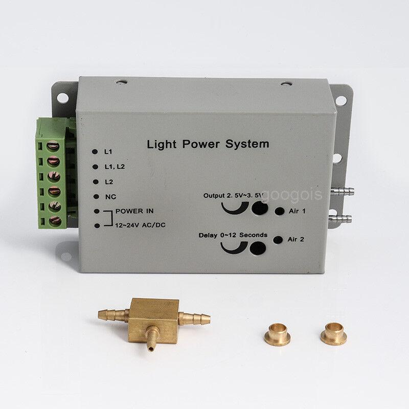 Dental Fiber Optic Handpiece Light Power control System unit 6 HOLES