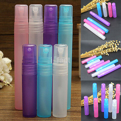 Plastic Spray Bottle Sample Bottle Perfume Cosmetic Atomizer Makeup Sprayer Tool