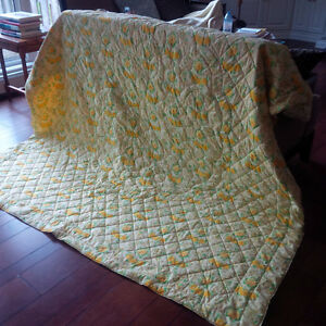 Beautiful Quilted Bedspread / Quilt Kitchener / Waterloo Kitchener Area image 1