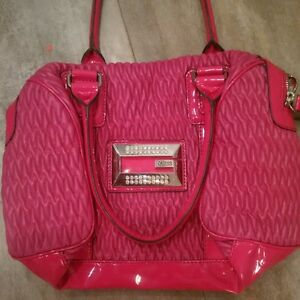 pink guess bag, used once