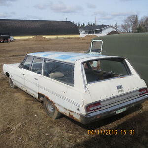 1968 PLYMOUTH SUBURBAN (Fury wagon) PROJECT ~ ROLLER