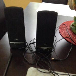 Set of Speakers for Computer