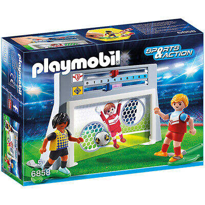 Playmobil 6858 Sports & Action Soccer Shootout Playset