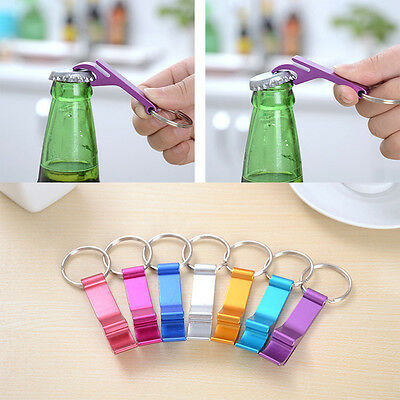Cute Key Chain Beer Bottle Opener Small Beverage Key Ring Claw Bar Pocket Tool