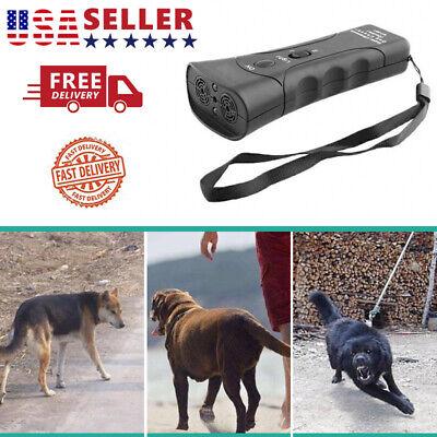 Anti Dog Barking Pet Trainer LED Light Ultrasonic Gentle Chaser Petgentle Style