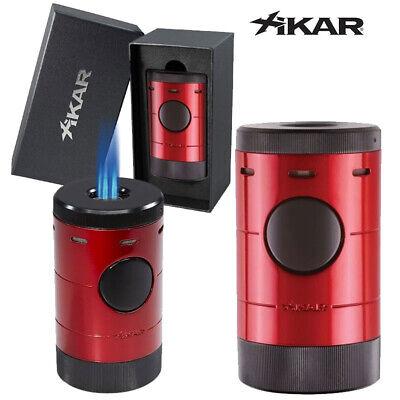 Xikar Volta Quad-Flame Tabletop Lighter - Red (MSRP: $159.99)