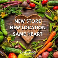 Crampton's Market - Barista's needed!