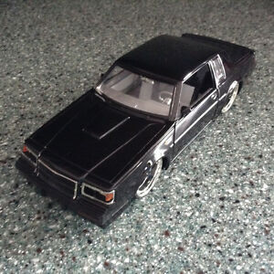 FOR SALE:  1987  BUICK  GRAND NATIONAL DIECAST CAR