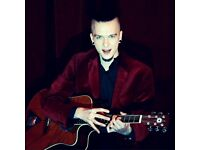Managed Singer Songwriter for events, gigs, parties