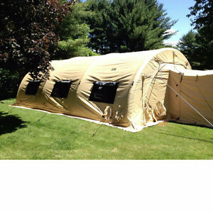 Advanced Air Beam fabric shelter tent Arctic Insulated @700sqft