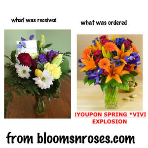 DO NOT BUY FLOWERS FROM BLOOMSNROSES.COM