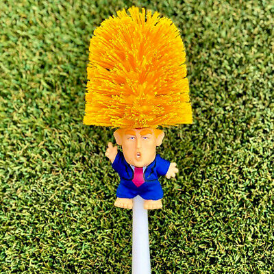 US Donald Trump hand made Toilet Bowl Brush Funny Gag Gift Christmas Xmas KY