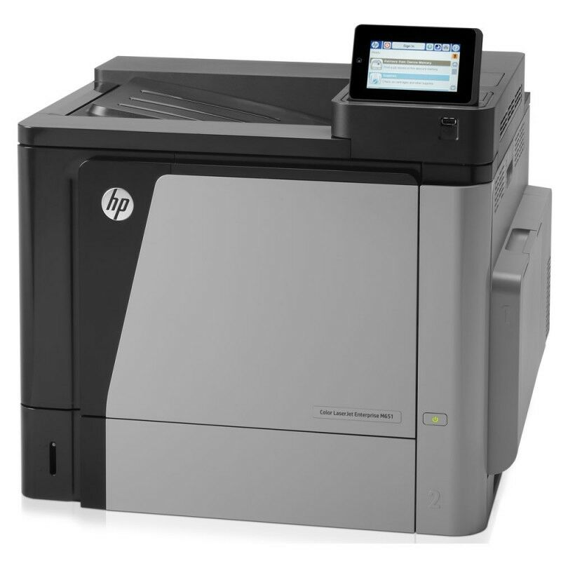 Hp cz255a - imprimante laserjet couleur enterprise m651n ethernet usb