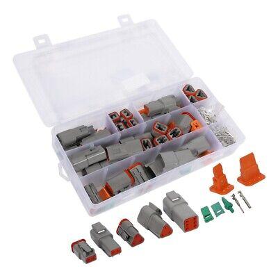250pcs Deutsch Dt Series Waterproof Wire Connector Kit Dt06-2346s Dt04-234