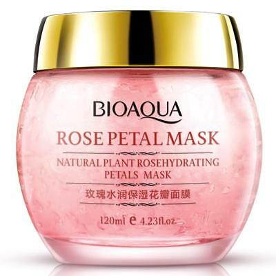 BIOAQUA Rose Face Mask Hydra Petals Fade Out Fine Lines Sleep Mask For the Face
