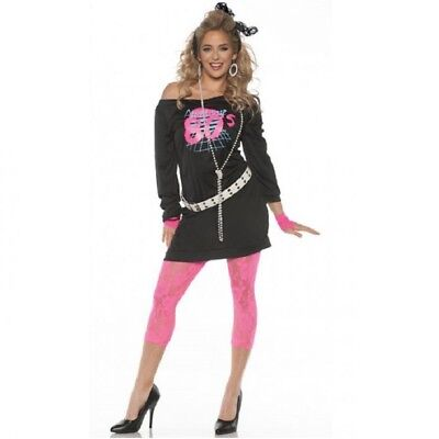 Awesome 80's Women's Costume by Underwraps - 3 Sizes - Awesome Costumes For Women