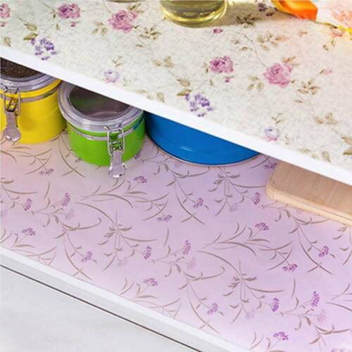 Non-adhesive Bedroom Cupboard Cabinet Shelf Drawer Liner Tab