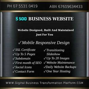 ✅ Website Development with Hosting & SSL Only $500 Annually ⭐⭐⭐⭐⭐