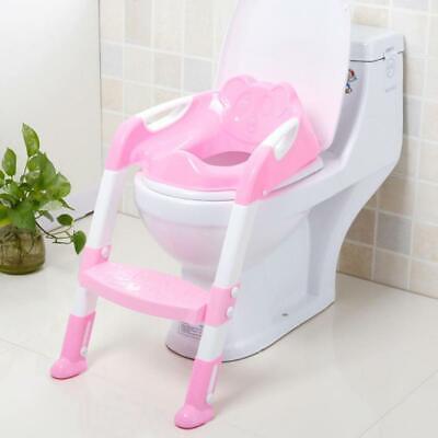 Asientos Plegables Baño Inodoro Bebés Niños Escalera Ajustable