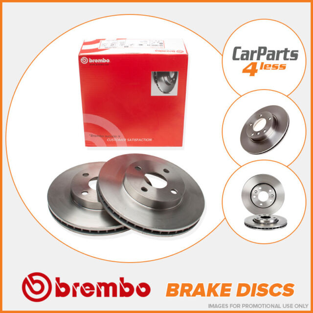 OE Quality Rear Brake Discs 271mm Solid Toyota Avensis T22 - Brembo 08.A336.11