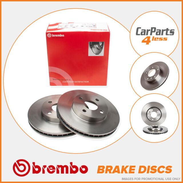 Rear Brake Discs 256mm Vented Seat Leon VW Golf MK4 Audi A3 TT Brembo 09.A652.11