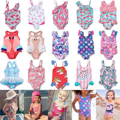 Baby Mädchen Badeanzug (Prinzessin Kleinkind Kinder Baby Mädchen Bademode Badeanzug Bikini Beachwear)