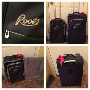 """Roots Luggage Set -  28"""" Expedition & 21.5"""" CarryOn (Expandable)"""