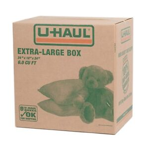 15 Moving or storing U- Haul boxes 6 cubic feet each