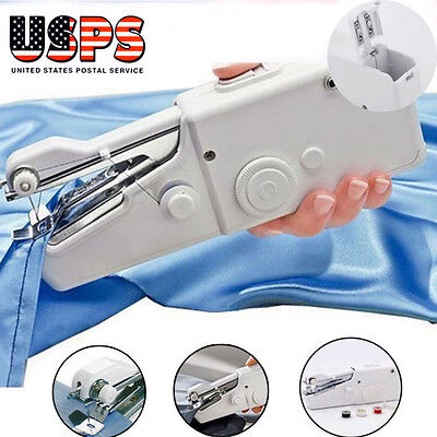 Mini Portable Smart Electric Tailor Stitch Hand Held Sewing Machine Home Travel