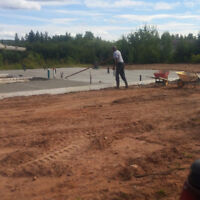 Concrete Placing /Finishing Services