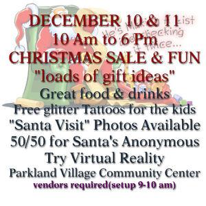 Christmas Sale and Fun Edmonton Edmonton Area image 1