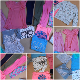 Bundle of girl clothes 6-7