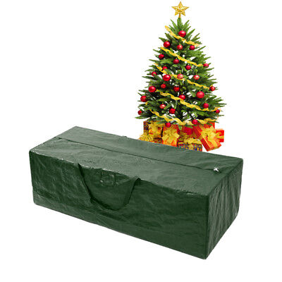 Artificial Xmas Christmas Tree Storage Bag Box Bin Bags for Trees 4-9 Foot Green ()