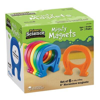 Horseshoe-shaped Magnet Set 6pkg