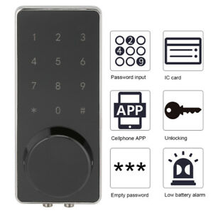 Bluetooth smart touch screen door bolt lock