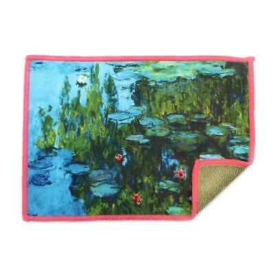 Smartie Microfiber Screen Cleaning Cloth for iPad, iPhone, Lenses - Water Lilies