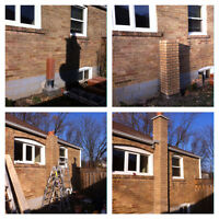 REPAIR chimneys, porches, retaining walls, tuckpointing,concrete