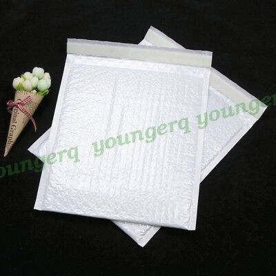 25 Poly Bubble Mailers Padded Envelopes Shipping Bags Self Seal 9x12 260x300mm
